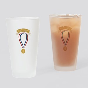 CHAMPION Drinking Glass