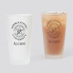 Miskatonic - Alumni Drinking Glass