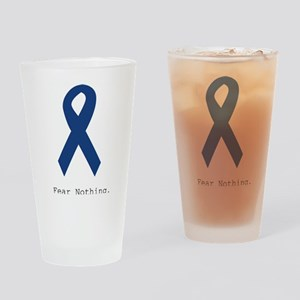Navy Blue: Fear Nothing Drinking Glass
