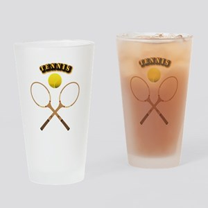 Sports - Tennis Drinking Glass