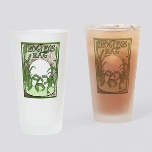 Frog Legs Rag Drinking Glass
