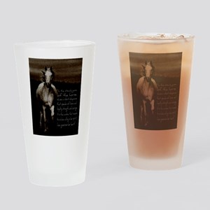 The Horse Drinking Glass