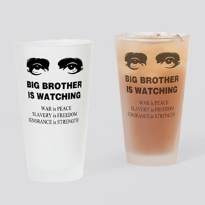 Big Brother is Watching I Drinking Glass