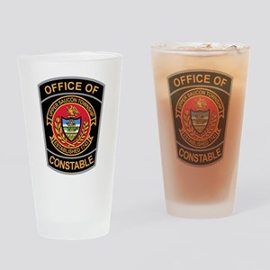 > Upper Saucon Constable Drinking Glass