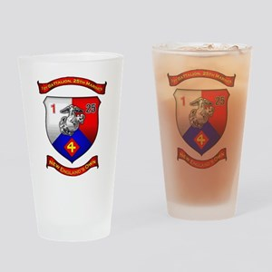 1st Battalion 25th Marines Drinking Glass