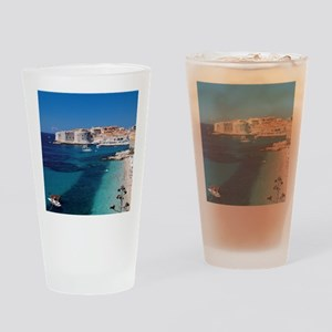 Croatia by the Beach  Drinking Glass