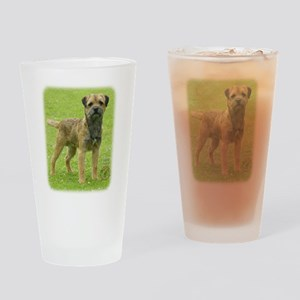Border Terrier 8T086D-11 Drinking Glass