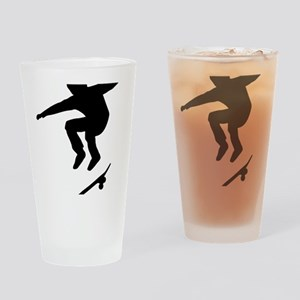 skateboarder Drinking Glass