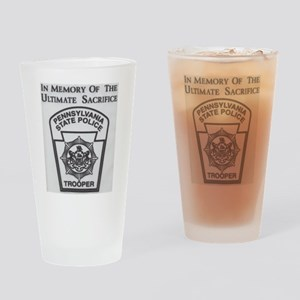 Helping Pennsylvania State Police Drinking Glass