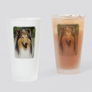 Collie Rough AA011D-031 Drinking Glass