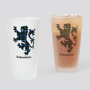 Lion-Robertson hunting Drinking Glass