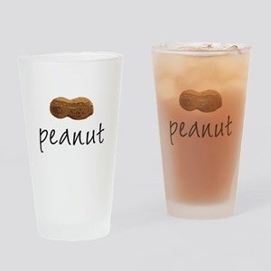 Peanut Pint Glass