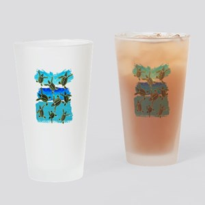 THE NEW WORLD Drinking Glass