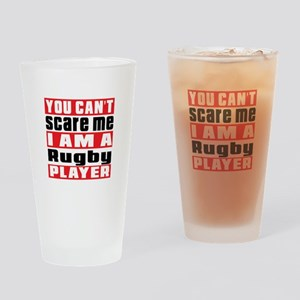I Am Rugby Player Drinking Glass
