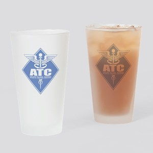 Athletic Trainer Certified Drinking Glass