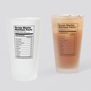 Scrum Master Drinking Glass