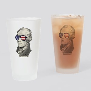 Alexander Hamilton Drinking Glass