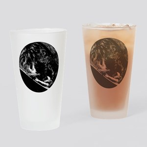 SpaceX Starman in Space for Elon Mu Drinking Glass
