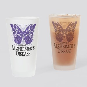 Alzheimers-Butterfly Drinking Glass