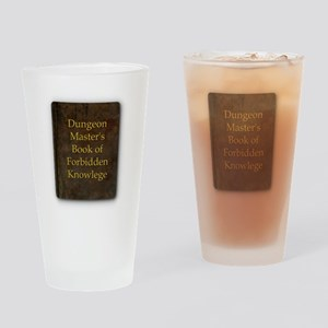 Dungeon Master's Bk Forbidden Knowl Drinking Glass