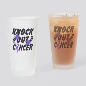 Knock Hodgkins Lymphoma Drinking Glass
