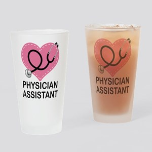 Physician Assistant gift Drinking Glass