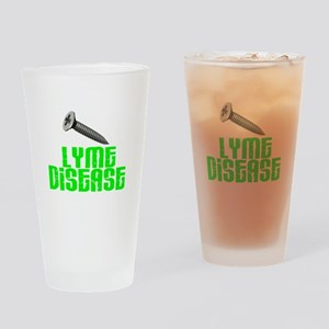 Screw Lyme Disease Drinking Glass