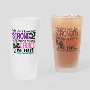 Thyroid Cancer How Strong We Are Drinking Glass