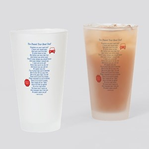 You Passed Road Test Drinking Glass