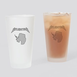 Antarctica - Metalllica Drinking Glass