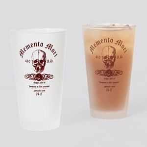 Memento Mori Drinking Glass