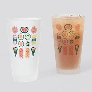 Sushi Drinking Glass