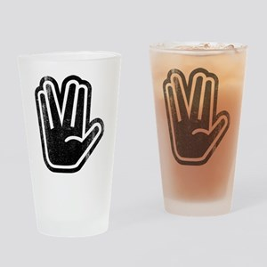 Live Long & Prosper Hand Drinking Glass