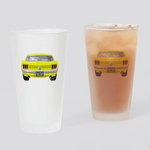 1967 Mustang Drinking Glass