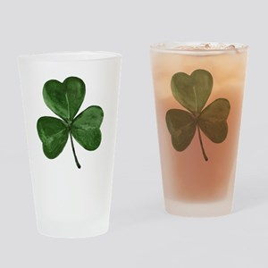 shamrock1 Drinking Glass