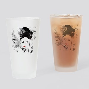 Kyoto Geisha Drinking Glass
