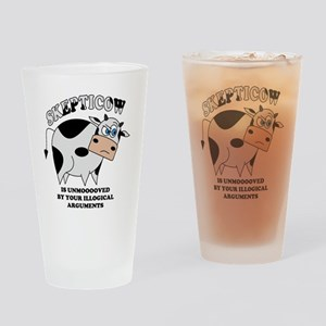Skepticow Drinking Glass