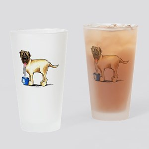 Mastiff Drool Drinking Glass
