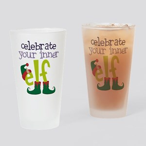 Celebrate Drinking Glass