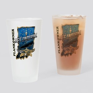SSN-789 Plankowner Drinking Glass