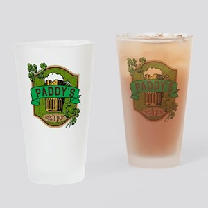 Paddy's Irish Pub Drinking Glass