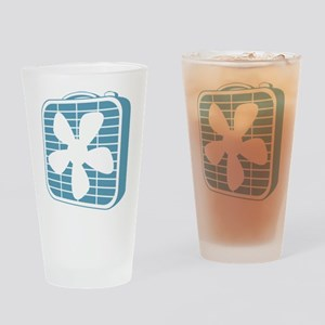 Box Fan Graphic Drinking Glass