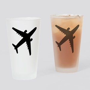 Airplane Jet Drinking Glass