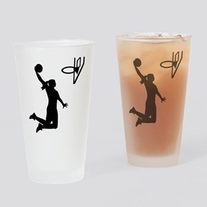 Basketball girl woman Drinking Glass