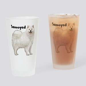 Samoyed Drinking Glass
