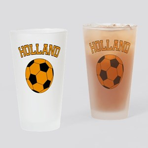 soccerballNL1 Drinking Glass