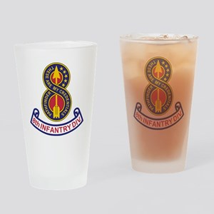 3-Army-8th-Infantry-Div-5-Bonnie.gi Drinking Glass