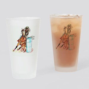 96x96_barrelracer Drinking Glass