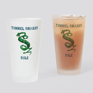 Tunnel Snakes Rule! Drinking Glass
