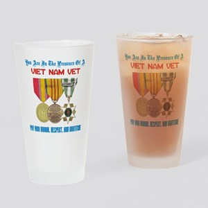 presence of vn vet Drinking Glass